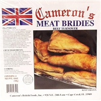Camerons Meat Bridies (2 x 4 pack)