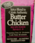 Spice Kitchen Butter Chicken Curry pack